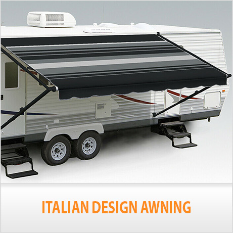 NEW 14FT Caravan Awning Roll Out 14FT X 8FT Italian ...