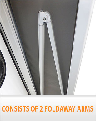 NEW Caravan Awning Roll Out 2.5m x 2.0m Italian Designed ...