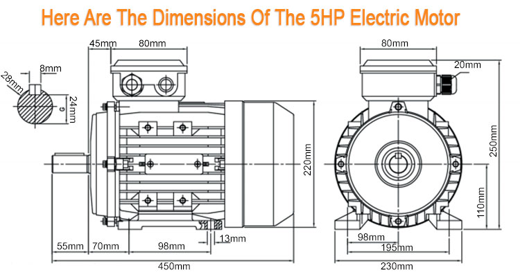 how to change direction of single phase capacitor start motor