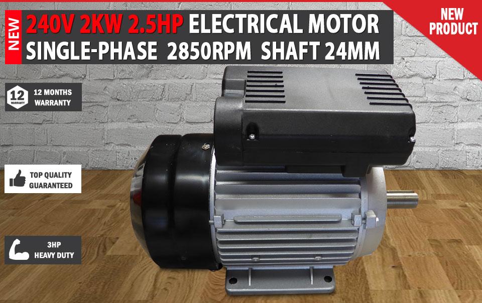 Electrical Motor Single