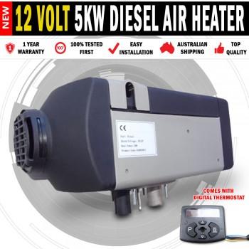 12v Planar 5KW Diesel Air Heater Caravan Motorhome RV Bus Truck Jayco
