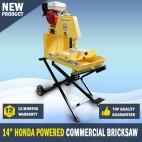 "Bricksaw 14"" Honda Powered Commercial Brick Saw Stonesaw"