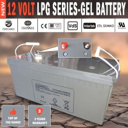 Power Star 12V 200AH GEL Deep Cycle Battery Caravan 4WD Boat Solar System