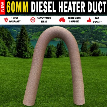 Flexible 60mm Duct  Hot & Cold, Air Ducting For Diesel Heater Webasto, Dometic,  EBERSPACHER