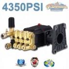 4350 PSI TRIPLE PISTON HIGH PRESSURE WATER PUMP 18LPM SUIT HONDA