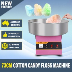 73CM Commercial Cotton Candy Floss Machine Fairy Floss Machine