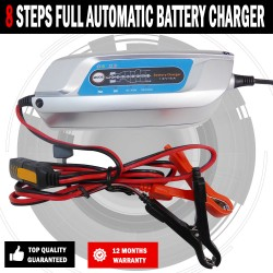 Battery Charger Fully Automatic 5AMP 8 Stage Suit Up 160AH Lead,AGM,GEL
