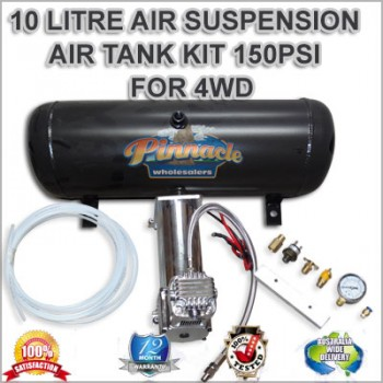 12 volt Air Compressor System 10 Litre Tank, Air Suspension Kit 4WD, Hilux