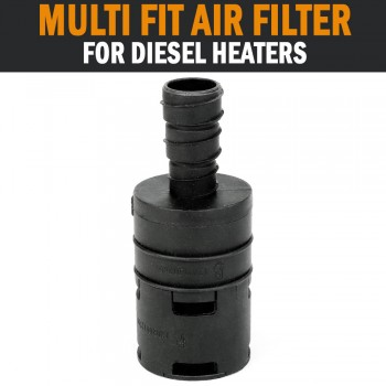Multi Fit Air Filter Silencer Dometic Eberspacher Webasto Diesel Heater