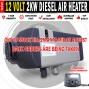 12 VOLT, 2.2Kw DIESEL AIR HEATER Will Heat 44Sq Metres