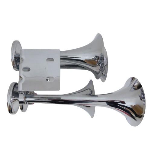 Train Truck Horn 12v Amp 24 Volt 4 Trumpet Air Horns