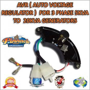 AVR (AUTO VOLTAGE REGULATOR) FOR 3 PHASE 5KVA TO 20KVA GENERATORS
