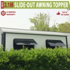 2.1m Werada RV Caravan Slide-out Awning Topper