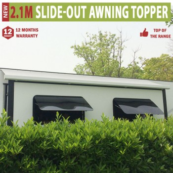2.1m Werada RV Caravan Slide-out Awning Topper