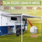 Italian Designed Aluminium Wareda Caravan RV Awning 3.5cm x 2.5cm