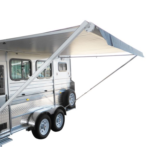 18ft X 8ft Electric Caravan Awning Roll Out Italian
