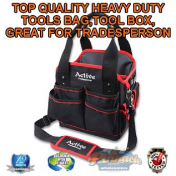 TOP QUALITY HEAVY DUTY TOOL BAG GREAT FOR TRADESPERSON