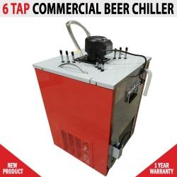 Commercial 6 Tap Beer Ice Bank Chiller Cooler Flooded Tap Temprite