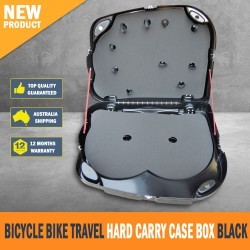 Brand New Bicycle Bike Travel Hard Carry Case Box Black