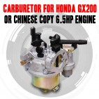 CARBURETOR CARBURETTOR CARBY TO SUIT HONDA GX160 GX200 + CHINESE COPY ENGINES