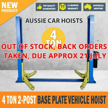Commercial 2 Post Car Hoist 4 Ton Car Lift Garage Lift Vehicle Lift