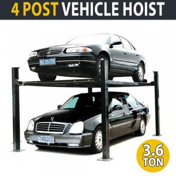 3.6 Ton 4 Post Vehicle Hoist Commercial Car Garage Lift