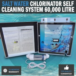 NEW Aqua Pool Salt Chlorine Generator For pools Up To 120,000 litres & 30g/HR