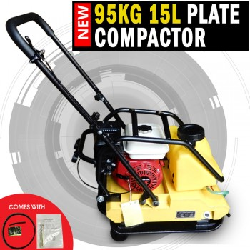 Genuine Honda Powered 95KG Plate Compactor Wacker Packer Industrial