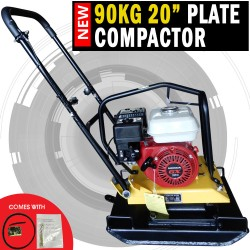 NEW Genuine Honda Powered 90KG Plate Compactor Wacker Packer Industrial