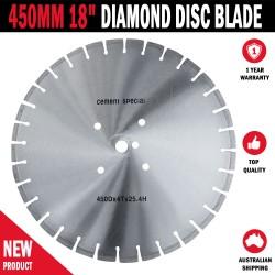 "450MM 18"" Multi Material Diamond Disc Blade Asphalt Concrete Masonry Brick"