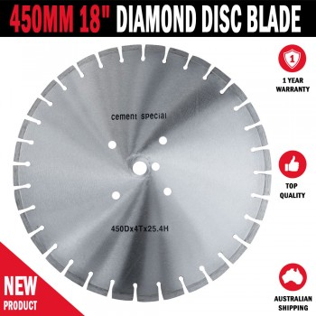 "450MM 18"" Multi Material Diamond Disc Blade Asphalt Concrete Masonry Brick"