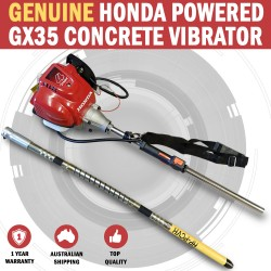 Genuine Honda GX35 Powered Portable vibe Handyvib Concrete Vibrator