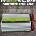 NEW 12V DC Step-up to 24V 20A Boost Voltage Converter Regulator