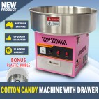 Cotton Candy Floss Machine Fairy Floss Machine with Drawer