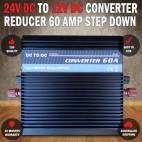 24V DC TO 12V DC Automobile Converter Reducer 60 AMP Step Down