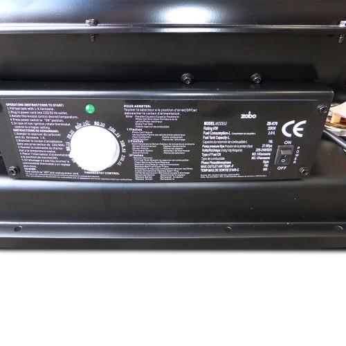 Industrial 20kw Diesel Kerosene Workshop Shed Heater
