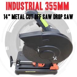 """INDUSTRIAL 355mm, 14"""" METAL 2000Watt CUT OFF SAW DROP SAW CHOP SAW"""