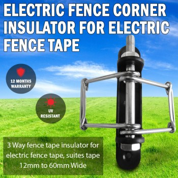 Electric Fence Corner Insulator For Electric Fence Poly Tape UV Resistant
