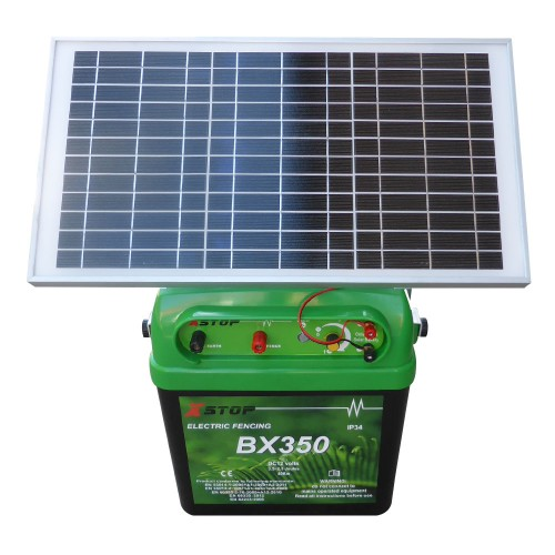 40km 2 5j Solar Power Electric Fence Energizer Charger