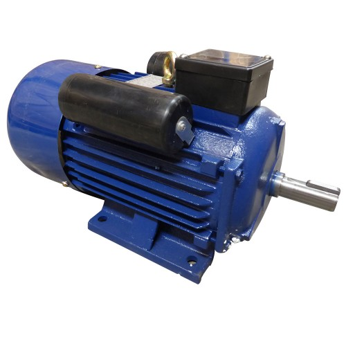 kw hp electric motor single phase  rpm  pole