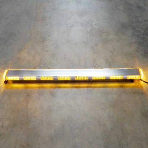 Flashing Amber Led Warning Light Bar Emergency Safety