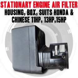 Stationary Engine Air Filter & Housing, Box, Honda & Chinese 11hp, 13hp,15hp
