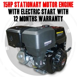 15HP STATIONARY MOTOR ENGINE WITH ELECTRIC START