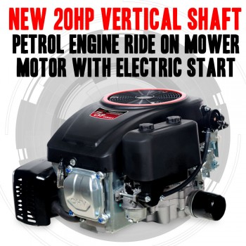 NEW 20HP Vertical Shaft Petrol Engine Ride On Mower Motor With Electric Start