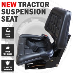 Tractor Suspension Seat Wraparound John Deere, New Holland, Fiat, Ford