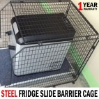 NEW Steel Fridge Slide Barrier / Cage (620mm W x 850mm L x 695mm H) - 4x4, 4wd