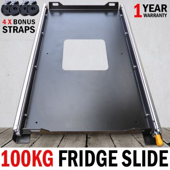 100Kg Lonman Fridge Slide Unit Suits Waeco Evacool Engel 4wd Car Van 74 x 42cm