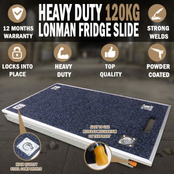 120Kg Lonman Fridge Slide Unit Suits Waeco Evacool Engel 4wd Car Van Camper 81 X 36cm