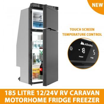 192Lt Commercial Single Glass Door Drinks Fridge Chiller Beer Refrigerator