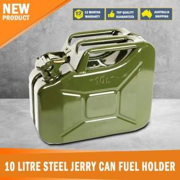 New 10 litre Steel Jerry Can Fuel Holder